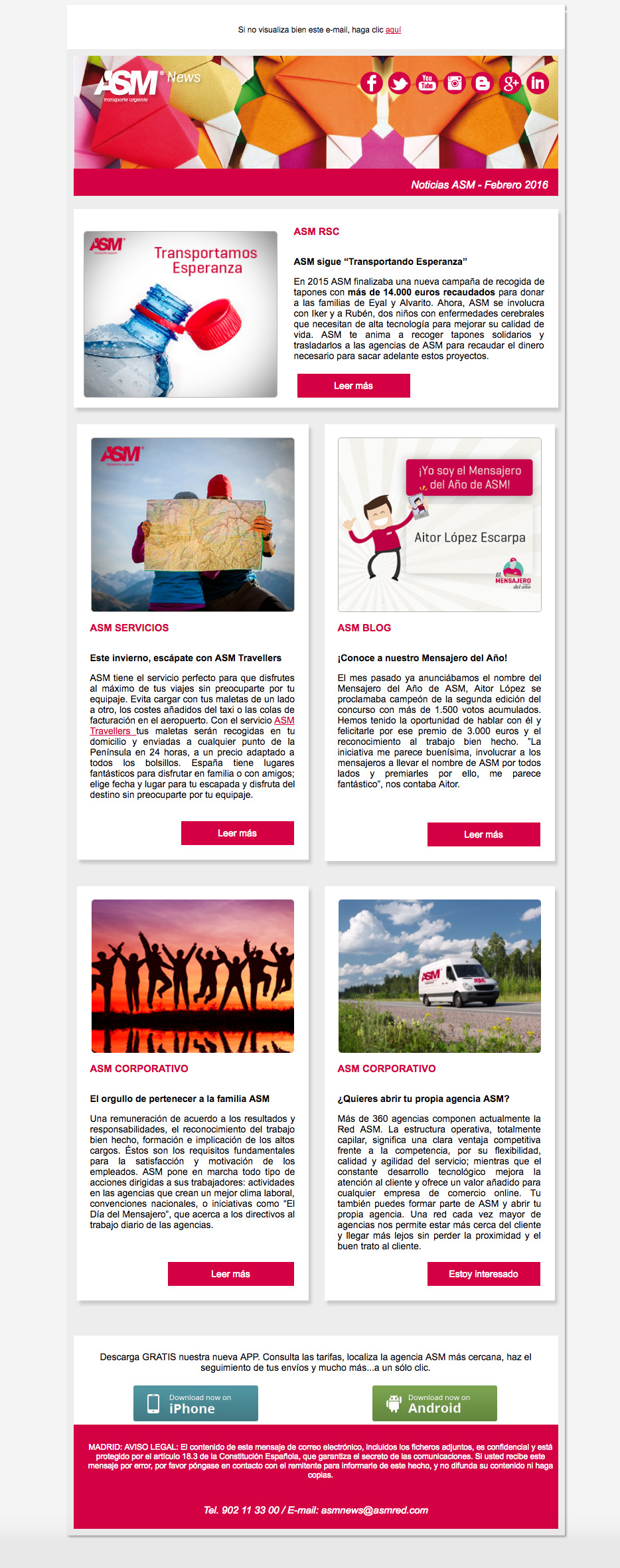 Newsletter ASM