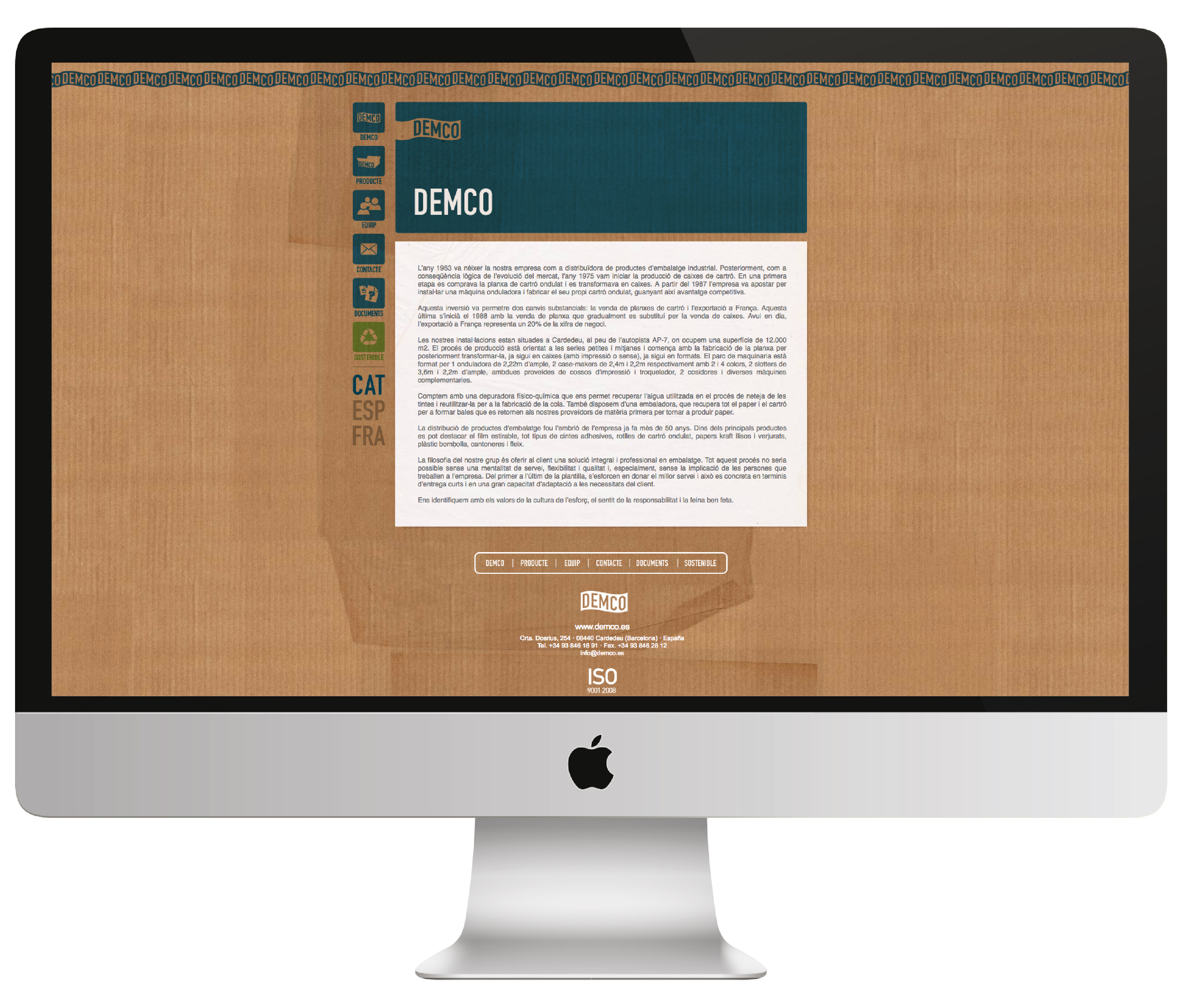 Web design Demco
