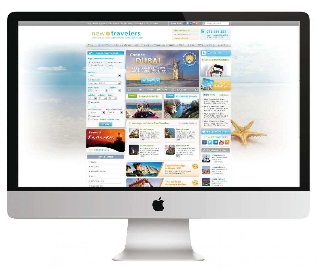 Newtravelers web site